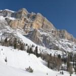 Mountain Dolomites panorama  — Stock Photo #36645301