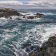 Sein tempest on rocks — Stock Photo #36645597