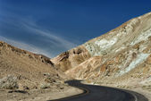 Death Valley Route — Stock Photo