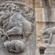 Stock Photo: Rome bas relief