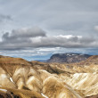 Iceland landmannalaugar region landscape — Stock Photo