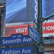 Stock Photo: New york fashion ave