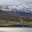 Stock Photo: Akureyri Iceland coastal view