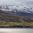 Akureyri Iceland coastal view — Stock Photo