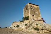 Sicilian ancient building — Stock Photo
