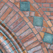 Brick arch detail — Stock Photo