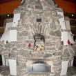 Stone fire place — Stock Photo #38693935