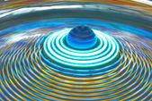Luna park flyttar ljus bakgrund — Stockfoto