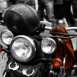 Stock Photo: Motorbike Harley detail