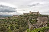 Spoleto Umbria Italy Castle — Stock Photo
