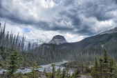 Canada Rocky Mountains Panorama — Stock Photo