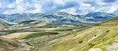 Castelluccio Umbra Italy landscape — Stock Photo