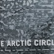 Stock Photo: The Arctic circle ice blocks wall