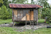 Hovel, shanty, shack in Philippines — Stock Photo