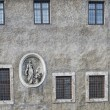 Stock Photo: Rome bas relief on building