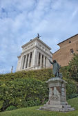 Rome unknow soldier view from campidohlio — Foto Stock