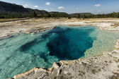 Yellowstone Sapphire Pool — Stock Photo