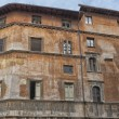 Stock Photo: Rome jewish district building