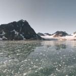 Svalbard Spitzbergen Glacier landscape — Stock Photo #40161797