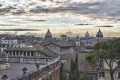 Рим закатом — Стоковое фото
