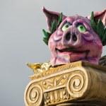 Carnival parade vagn detalj — Stockfoto #41985333