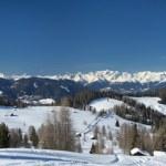 Dolomites huge panorama view — Stock Photo #42516275