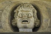 Rome Medieval Church statue — Stock Photo