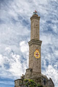 Lightouse Lanterna Genoa town Italy Symbol — Stock Photo