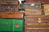 Old luggages — Foto de Stock