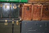 Old luggages — 图库照片