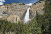 Takkakaw Falls in Banff Yoho Park  — Stock Photo