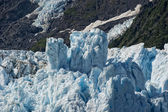 Harriman glacier in Alaska — Stock Photo