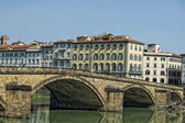 Florence arno river view — Foto Stock