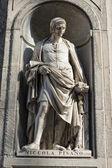 Florence uffizi statue Nicola Pisano — Zdjęcie stockowe