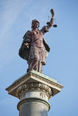 Florens rättvisa staty — Stockfoto