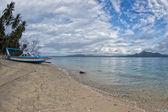 Siladen turquoise tropical paradise island — Stockfoto