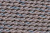 Italian shingle roof — Stock Photo