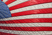 Detalle de estrellas y rayas de la bandera americana usa — Foto de Stock