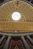 Washington capitol dome internal view — Stock Photo
