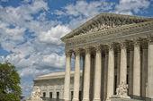 Fachada de corte suprema de justicia washington dc — Foto de Stock