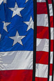 Usa American flag stars and stripes detail — Stock Photo