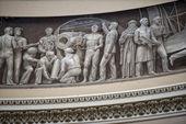 Cupola del capitol washington dipinto — Foto Stock