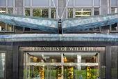 Washington dc buldings defenders of wildlife — Stock Photo