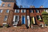 Annapolis Maryland historical houses — Stock Photo