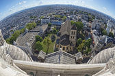 Paris huge aerial view from montmatre — ストック写真