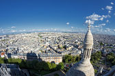 Paris huge aerial view from montmatre — 图库照片