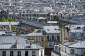 Paris roofs and cityview — Stock fotografie