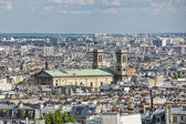 Paris roofs and cityview — Stock Photo