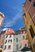 Vernazza cinque terre houses — Stock Photo