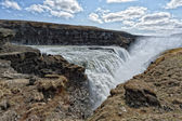 Gulfoss waterfall in iceland — Foto Stock